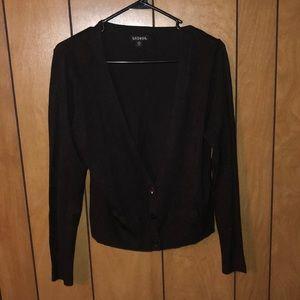 George size medium 8-10 V cut button cardigan